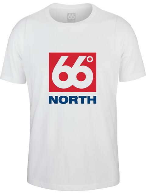66° North Logn Box Logo t-shirt Heren wit